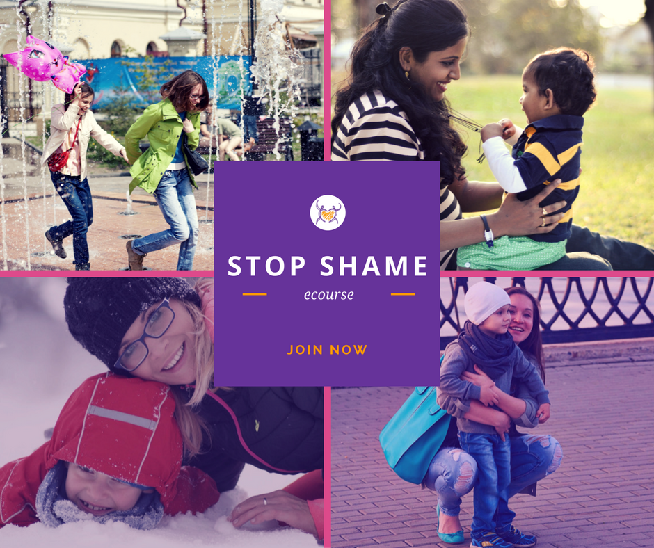 Become a shame-free parent!