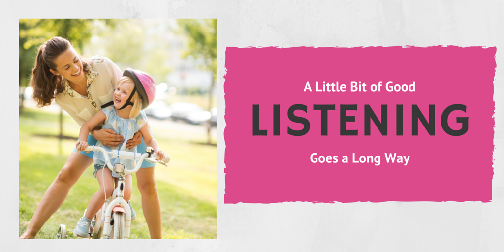 Image: a little bit of good listening goes a long way