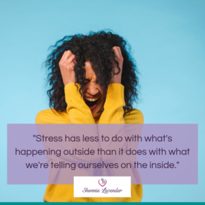 image and stress quote